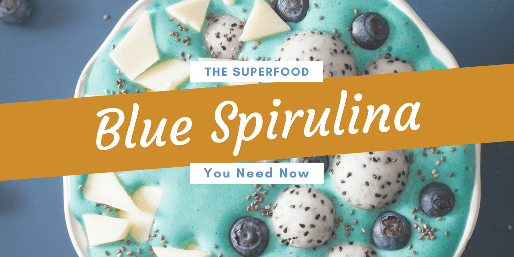 Blue spirulina superfood