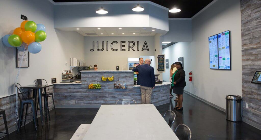 Juiceria Smoothie Bar Franchise